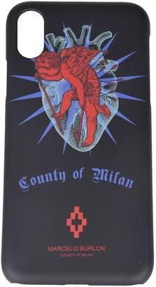 Marcelo Burlon County of Milan Heart Iphone X Case