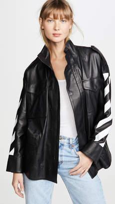 Off-White Diagonal Field Jacket