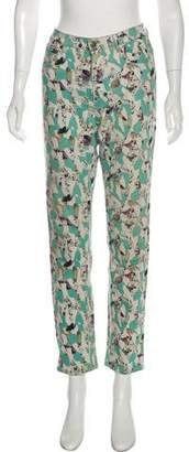 Cos Mid-Rise Printed Jeans