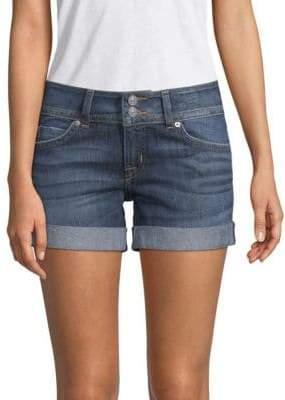 Hudson Mid-Thigh Denim Shorts