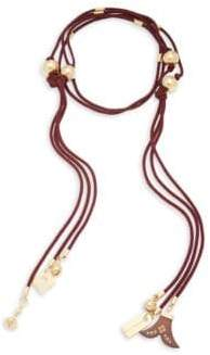 Janis Beaded Tie Necklace