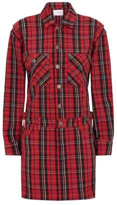Current/Elliott Current Elliott The Jumpsuit Check Dress