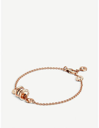 Bvlgari B.zero1 18kt pink-gold bracelet