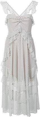 Marissa Webb polka dot layered dress