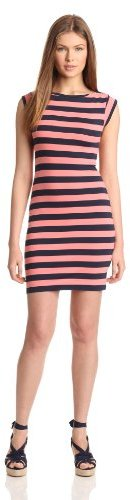 French Connection Women's Stretch Stripe Dress