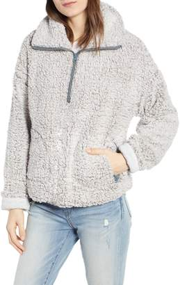 Thread & Supply Quarter Zip Fleece Pullover