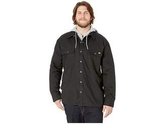 Dickies Big Tall Relaxed Fit Icon Hooded Duck Quilted Shirt Jacket