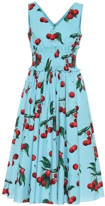 19b89341 Dolce & Gabbana Exclusive to Mytheresa cherry printed cotton dress