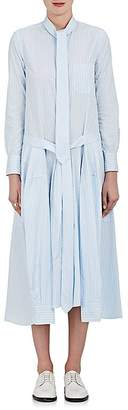 Thom Browne THOM BROWNE WOMEN'S STRIPED COTTON POPLIN SHIRTDRESS $1,590 thestylecure.com