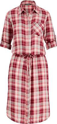 Ralph Lauren Plaid Drawstring Shirtdress