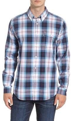 Barbour Cabin Tailored Fit Plaid Sport Shirt