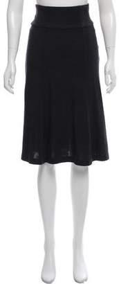 Diane von Furstenberg Wool Knee- Length Skirt
