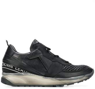 Leather Crown Iconic Aero sneakers