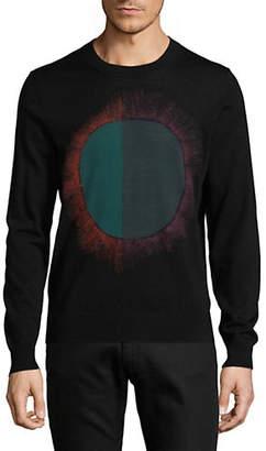 Paul Smith Merino Wool-Blend Knit Circle Sweater