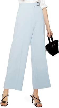 Topshop Dani D-Ring Cropped Trousers