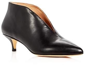 Pour La Victoire Women's Kora Kitten Heel Booties $275 thestylecure.com