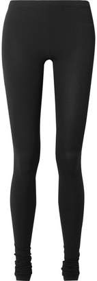 Rick Owens Stretch-jersey Leggings - Black