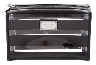 Michael Kors Logo PVC Cosmetic Bag