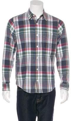Jack Spade Woven Plaid Shirt