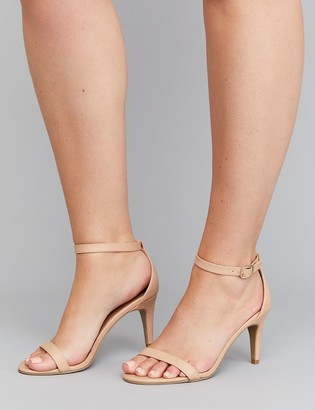 Thin Tall Ankle-Strap Heel Sandal