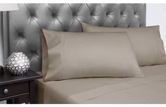 Spectrum Home Textiles Organic Cotton T-300 Queen Platinum Sheet Set