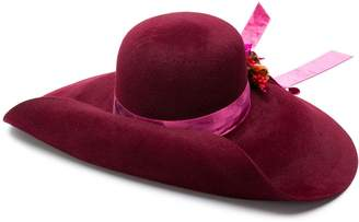 Gucci upturned wide hat