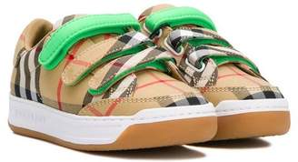 Burberry touch stap sneakers