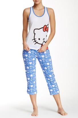 Hello Kitty Americana PJ Set $42 thestylecure.com