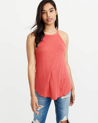 Abercrombie & Fitch High-Neck Tank