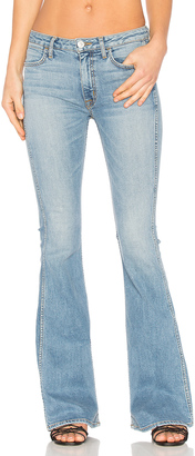 Hudson Jeans Tom Cat High Rise Flare $215 thestylecure.com