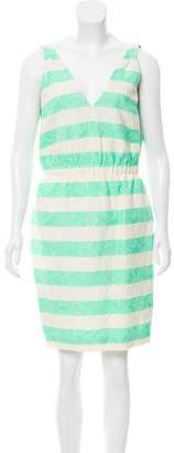 Thakoon Jacquard Striped Dress w/ Tags