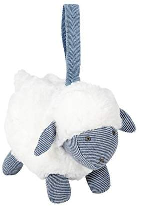 Mamas and Papas Welcome To The World Chime Sheep Soft Toy, Blue, Baby/Infant Toy