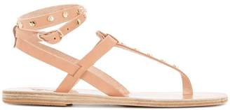 Ancient Greek Sandals studded T-bar sandals
