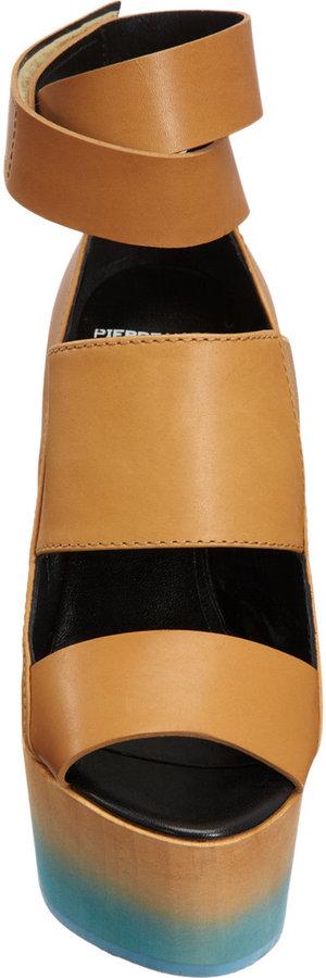 Pierre Hardy Degrade Wedge Sandal