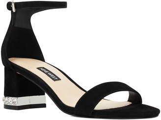 e2a2ece79e9 Nine West Hazel Crystal Embellished Ankle Strap Sandal
