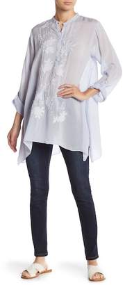 Johnny Was Hi-Lo Patterned Tunic