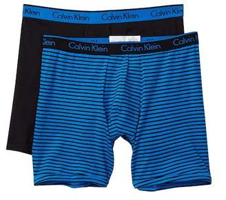 Calvin Klein Classic Fit Boxer Brief - Pack of 2 $34.50 thestylecure.com