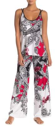 Jonquil In Bloom by Printed Cami Pant Set