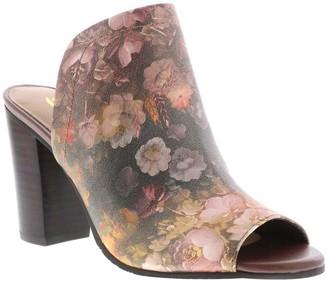 Sbicca Floral Print Slide Sandals - Estela