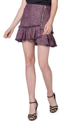 Veronica Beard Madra Boucle Mini Skirt