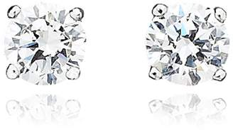 Crislu 0.50 ct. t.w. Brilliant Cut Cubic Zirconia Stud Earring