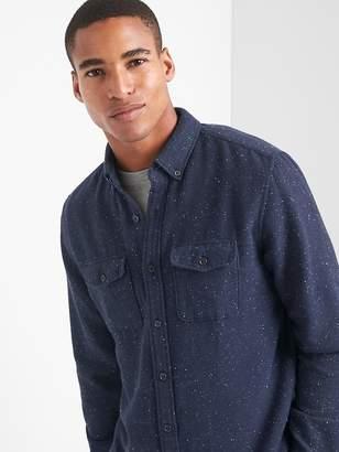 Gap Cozy twill standard fit shirt