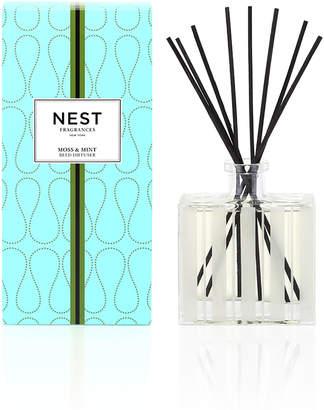 NEST Fragrances Moss & Mint Reed Diffuser, 5.9 oz./ 175 mL