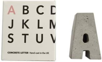 An Artful Life - Hand Cast Concrete Letter A-Z