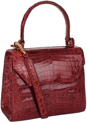 Nancy Gonzalez Mini Crocodile Cross Body Bag