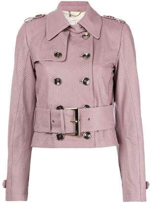 Patrizia Pepe double-breasted trench jacket