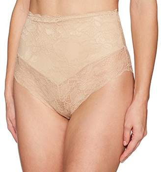 Arabella Women's Microfiber and Lace Smoothing Shapewear V Short