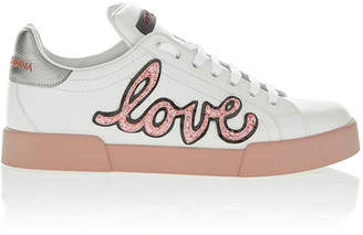 Dolce & Gabbana Love Leather Sneaker