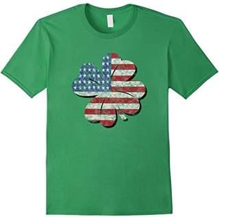 DAY Birger et Mikkelsen St Patricks Shamrock American Flag T Shirt
