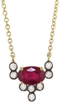 Yannis Sergakis Adornments Charnières Rouge Circle Necklace - Yellow Gold